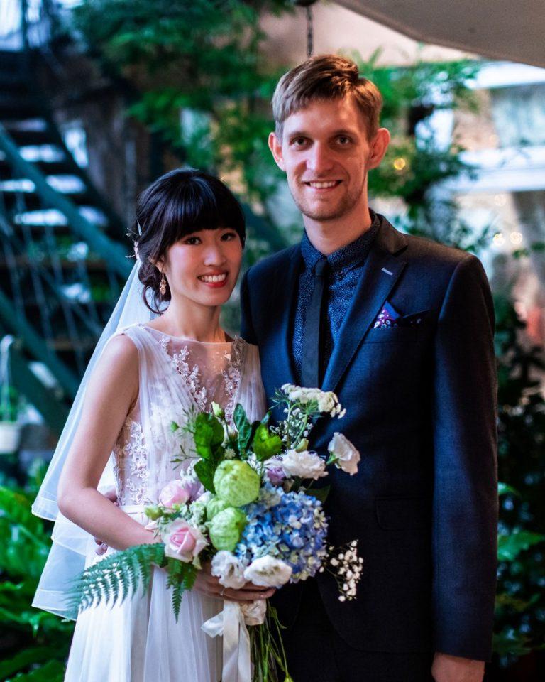 安德結婚照