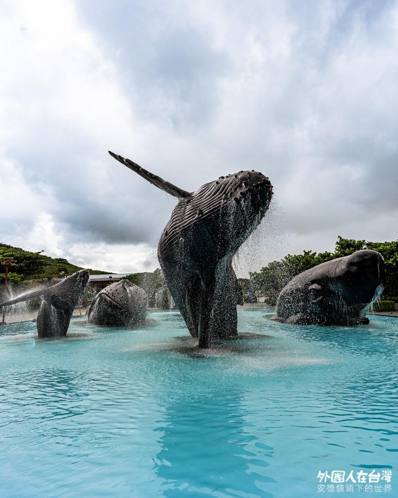屏東海生館外部裝置 鯨魚池