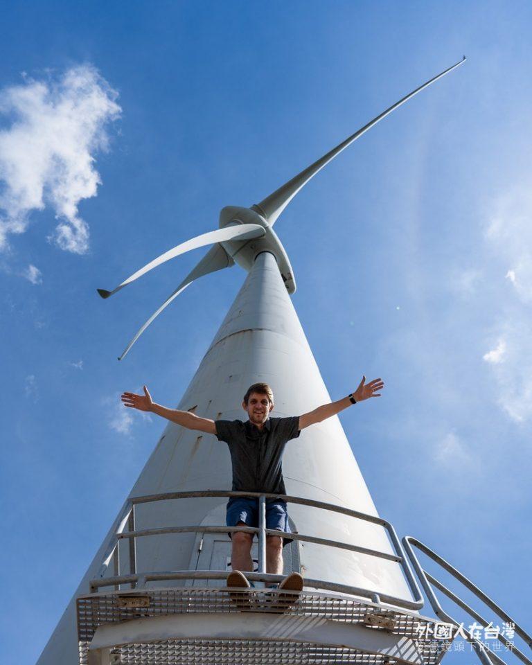 苗栗好望角風力發電機
