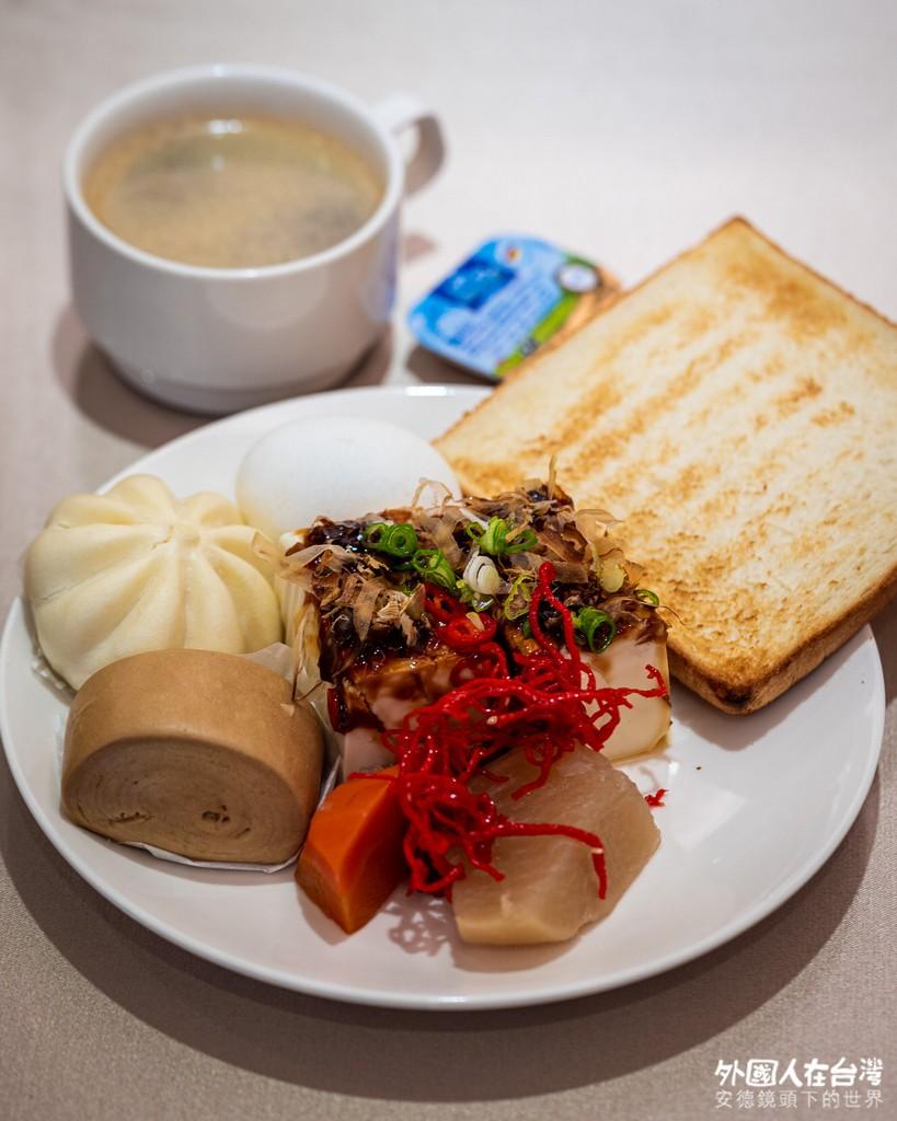 台中谷關明治溫泉飯店早餐