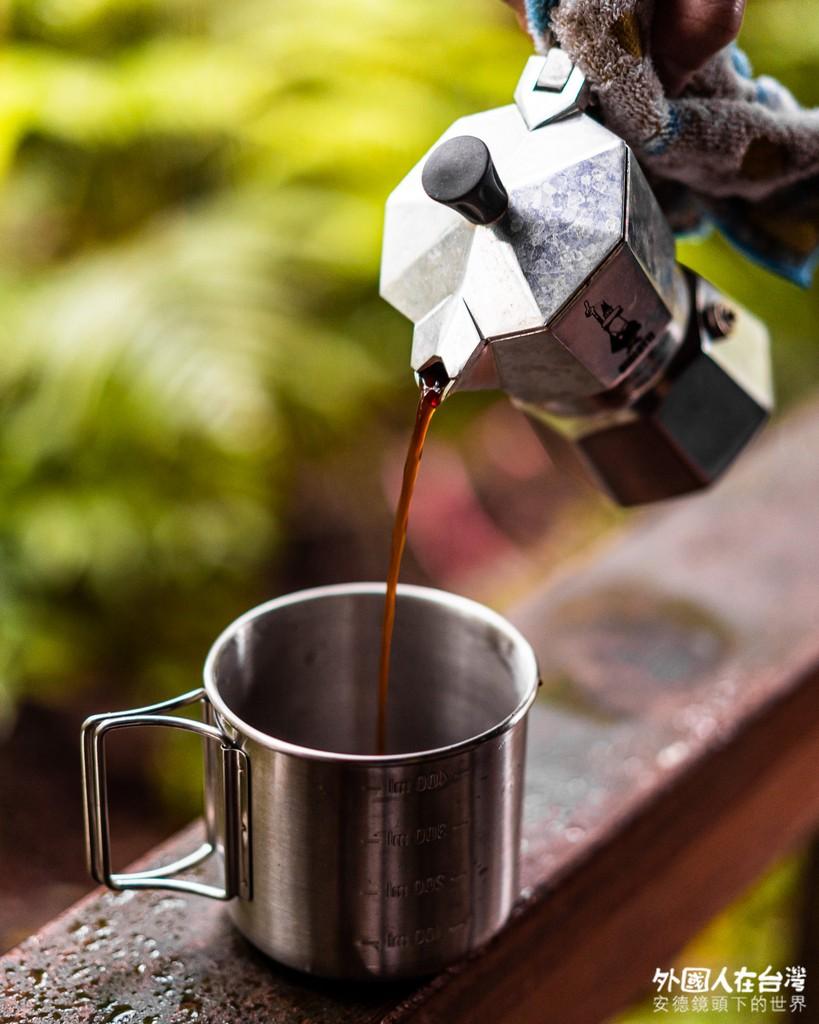馬崙山上煮咖啡