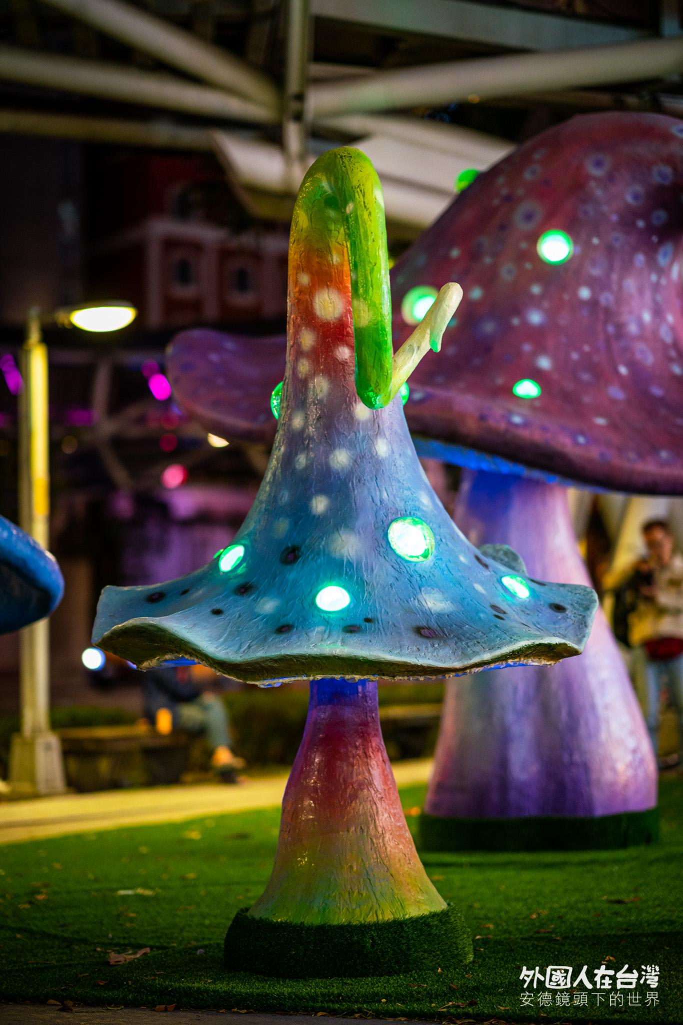 新北歡樂耶誕城魔法森林